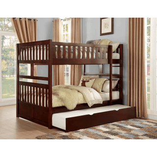 Rowe Bunk Bed Full on Full with Twin Trundle
