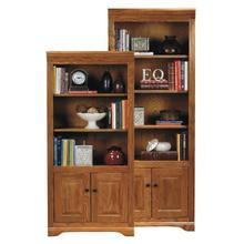 "Oak 60"" Deluxe Bookcase"