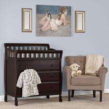Marcus Changing Table and Dresser- Espresso