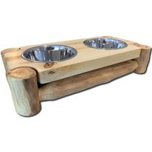 2-Bowl Pet Feeder