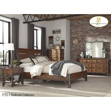 1715-1 Industrial Bedroom Collection