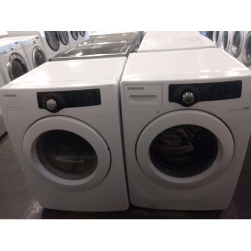 Isi3834138133 In By Packages In Englewood Co Refurbished Samsung White Front Load Washer Dryer Set Please Call Store If You Would Like Additional Pictures This Set Carries Our 6 Month Warranty