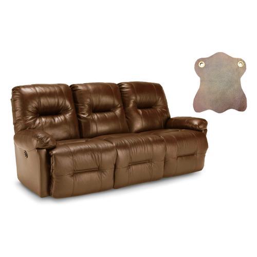 Best Home Furnishings - Zaynah Saddle Leather Match Power Reclining Sofa
