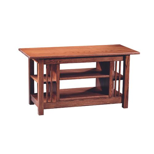 Country Value Woodworks - Mission Entertainment Table