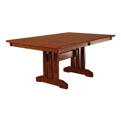 Oakwood Industries - Mission Table W/4 Leaves