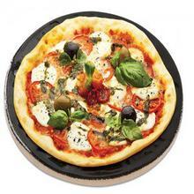 Porcelain Glazed Pizza Baking Stone (13 diameter)