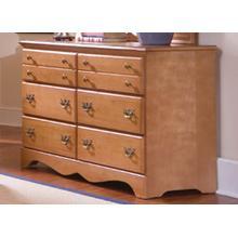 Common Sense Maple 6 Drawer Dresser