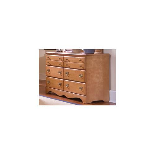 Carolina Furniture Works - Common Sense Maple 6 Drawer Dresser
