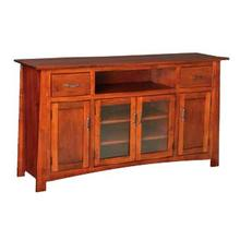 Craftsmen 4 Door Entertainment Center