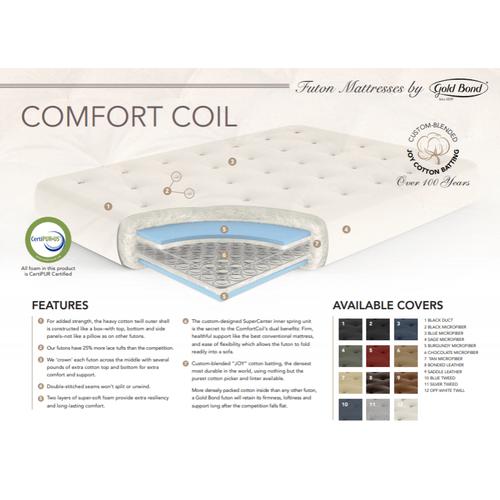 ComfortCoil Futon Mattress