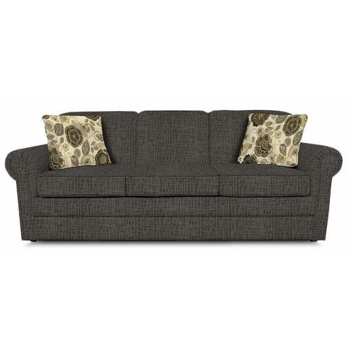 England Furniture - Savona Queen Sleeper 909 - Perth Smoke with Monita Adrift Pillows