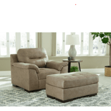 See Details - Maderla Chair and Ottoman