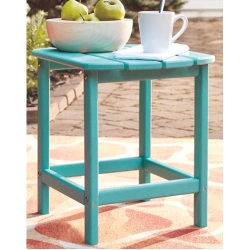 Product Image - Sundown Rectangular End Table - Turquoise