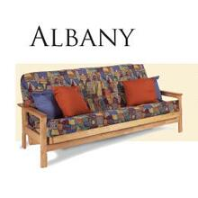 Solid Oak Futon Frame - Albany