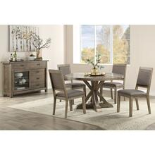 Madelyn Round Table & 4 Chairs