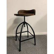 Adjustable Low Back Stool