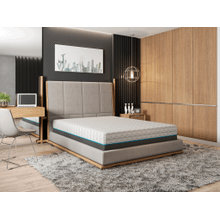 "BedTech - 10"" Copper Lux - Short Queen"