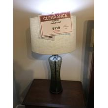 "Ashley ""Sharrona"" Gray L430214 Table Lamp 33""H"