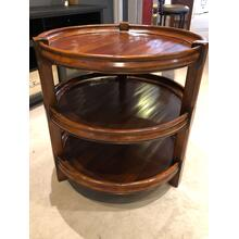 Round 3 Tier Accent Table-Floor Sample-**DISCONTINUED**