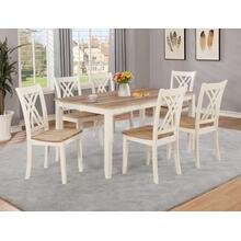 Josie Dining Table & 6 Chairs