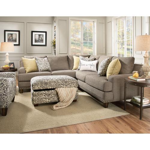 Franklin Furniture - FRANKLIN 86459-3612-06-86404-3612-06-86460-3612-06 Franklin 3-Piece Julienne Sectional Sofa