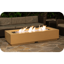 "Louvre 72"" x 30"" Long Rectangle Fire Pit"