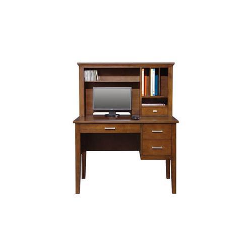 "Koncept Brown Cherry 42"" Desk"