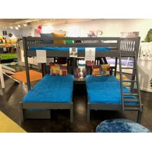 Full over Double Twin Bunk Bed