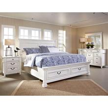 Stoney Creek Queen Panel Storage Bed