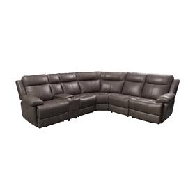 Sectional with Three Power Recliners