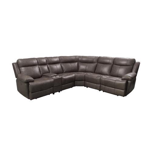 Klaussner - Sectional with Three Power Recliners