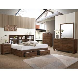 Crown Mark B9250 Millie Bookcase Full Bedroom