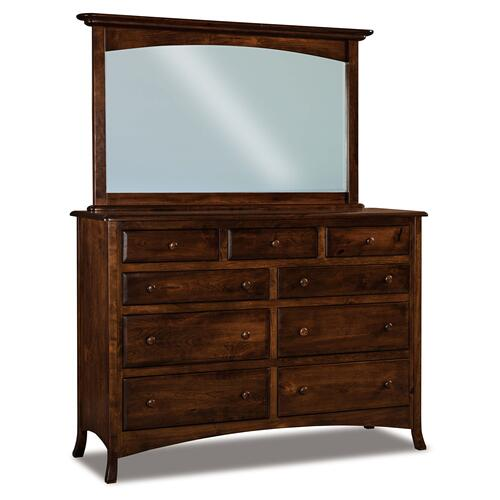 Shown in Rustic Cherry