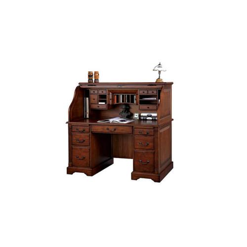 Counrty Cherry Roll Top Desk
