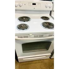 """Product Image - USED- GE® 30"""" Free-Standing Electric Range- E30WHCOIL-U SERIAL #55"""