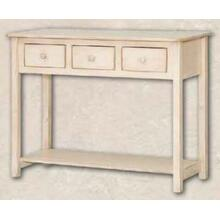See Details - 3 Drawer Console