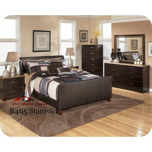 Ashley Furniture - Ashley B465 Stanwick Bedroom set Houston Texas USA Aztec Furniture