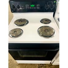 "USED- GE Spectra 30"" Free-Standing QuickClean Electric Range E30BLCOIL-U SERIAL #2"