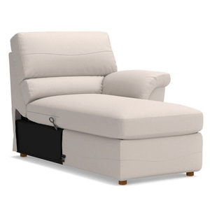Reese 2PC LEATHER LOVESEAT W/CHAISE  (40E-366,40Q-366 LB159462)