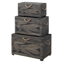 See Details - 3 Piece Nesting Trunks
