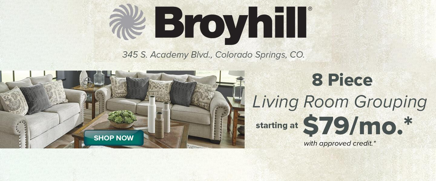 Furniture In Colorado Springs Fountain And Black Forest Co Broyhill Furniture Gallery