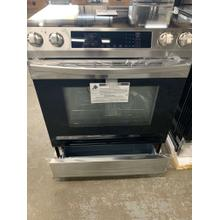 30 in. 5.8 cu. ft. Slide-In Electric Range with Self Cleaning Oven in Stainless Steel **OPEN BOX ITEM** Ankeny Location