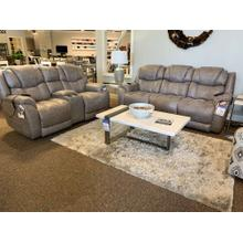 Mushroom Corral Power Sofa & Loveseat w/ Headrest & Lumbar