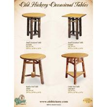 Old Hickory Occasional Tables