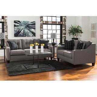 Brindon Sofa and Loveseat Set