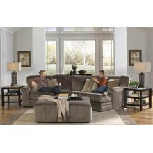 Everest 2PC Sectional w/Piano Wedge