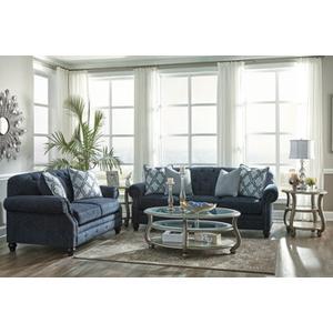 Lavernia- Navy Sofa and Loveseat