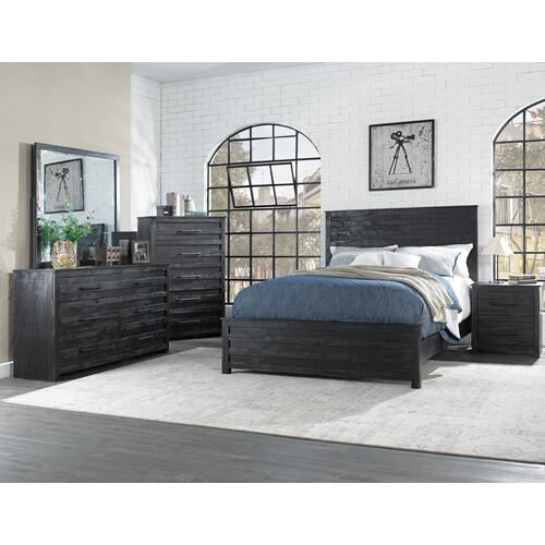 Queen Bed, Dresser, Mirror, Chest and Nightstand