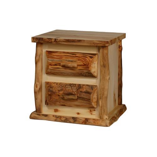 House Lodge Collection - Aspen Kodiak 2 Drawer Nightstand