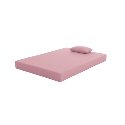iKidz Pink Mattress and Pillow